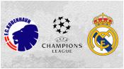 Копенгаген 0 - 2 Реал Мадрид (10 декабря 2013). 1-й тайм