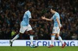 Суонси в упорной борьбе проиграл Манчестер Сити