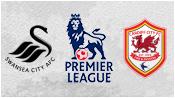 Суонси 3 - 0 Кардифф Сити ( 8 февраля 2014). 1-й тайм
