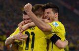 Боруссия в упорном матче одолела Вольфсбург