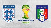 Англия 1 - 2 Италия (15 июня 2014). Превью!