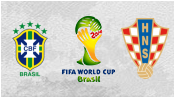 Бразилия 3 - 1 Хорватия (12 июня 2014). Обзор матча