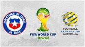 Чили 3 - 1 Австралия (14 июня 2014). Обзор матча