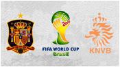 Испания 1 - 5 Нидерланды (13 июня 2014). Превью!