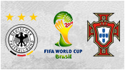 Германия 4 - 0 Португалия (16 июня 2014). Обзор матча