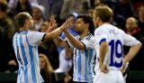 Аргентина не без проблем взяла верх над Боснией и Герцеговиной