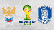 Россия 1 - 1 Южная Корея (18 июня 2014). Обзор матча