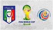 Италия 0 - 1 Коста-Рика (20 июня 2014). Обзор матча