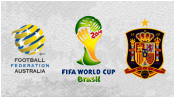 Австралия 0 - 3 Испания (23 июня 2014). Обзор матча