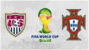 США 2 - 2 Португалия (23 июня 2014). Обзор матча