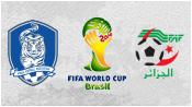 Южная Корея 2 - 4 Алжир (22 июня 2014). Обзор матча