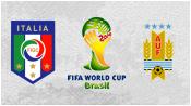 Италия 0 - 1 Уругвай (24 июня 2014). Обзор матча