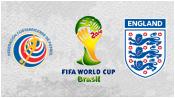 Коста-Рика 0 - 0 Англия (24 июня 2014). Обзор матча