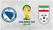 Босния и Герцеговина 3 - 1 Иран (25 июня 2014). Обзор матча