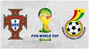 Португалия 2 - 1 Гана (26 июня 2014). Обзор матча