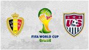 Бельгия 2 - 1 США ( 1 июля 2014). Обзор матча