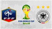 Франция 0 - 1 Германия ( 4 июля 2014). Обзор матча
