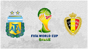 Аргентина 1 - 0 Бельгия ( 5 июля 2014). Обзор матча
