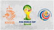 Нидерланды 0 - 0 Коста-Рика ( 5 июля 2014). Обзор матча