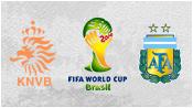 Нидерланды 0 - 0 Аргентина ( 9 июля 2014). Превью!