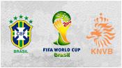 Бразилия 0 - 3 Нидерланды (12 июля 2014). Обзор матча