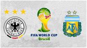 Германия 1 - 0 Аргентина (13 июля 2014). Обзор матча