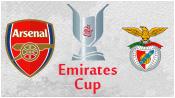Арсенал 5 - 1 Бенфика ( 2 августа 2014). 1-й тайм