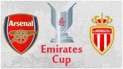 Арсенал 0 - 1 Монако ( 3 августа 2014). 1-й тайм