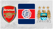 Арсенал 3 - 0 Манчестер Сити (10 августа 2014). 2-й тайм