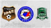 Урал 1 - 1 Краснодар (10 августа 2014). Обзор матча