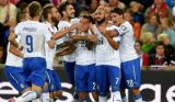 Италия побеждает Норвегию