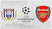 Андерлехт 1 - 2 Арсенал (22 октября 2014). Обзор матча