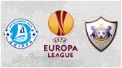 Днепр 0 - 1 Карабах (23 октября 2014). Обзор матча