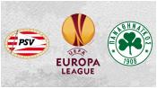 ПСВ 1 - 1 Панатинаикос (23 октября 2014). Обзор матча