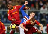 Рома потеряла очки в матче с Сампдорией