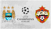 Манчестер Сити 1 - 2 ЦСКА ( 5 ноября 2014). Обзор матча