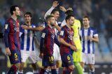 Барселона терпит поражение