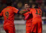 Барселона разбивает Депортиво