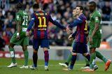 Барселона разбивает Леванте