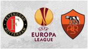 Фейеноорд 1 - 2 Рома (26 февраля 2015). 1-й тайм