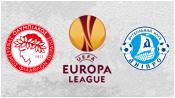 Олимпиакос 2 - 2 Днепр (26 февраля 2015). 1-й тайм