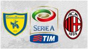 Кьево 0 - 0 Милан (28 февраля 2015). 1-й тайм