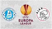 Днепр 1 - 0 Аякс (12 марта 2015). Обзор матча