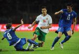Италия спаслась в матче против Болгарии
