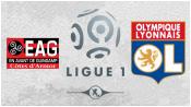 Генгам 1 - 3 Лион ( 4 апреля 2015). 1-й тайм