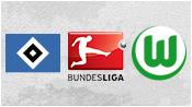 Гамбург 0 - 2 Вольфсбург (11 апреля 2015). 2-й тайм