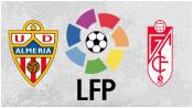 Альмерия 3 - 0 Гранада (11 апреля 2015). Обзор матча