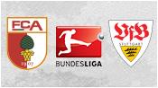 Аугсбург 2 - 1 Штутгарт (18 апреля 2015). Обзор матча