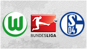 Вольфсбург 1 - 1 Шальке 04 (19 апреля 2015). 1-й тайм