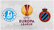 Днепр 1 - 0 Брюгге (23 апреля 2015). Обзор матча